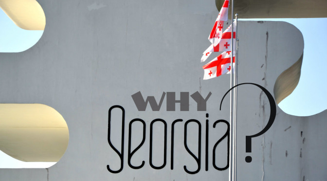 WHY GEORGIA? Eric Binder, an American in Tbilisi