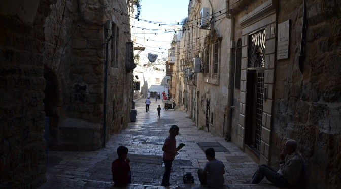 Eat, pray, walk: my Jerusalem experience